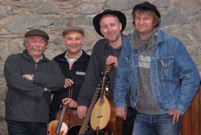 "10. Oktober 2015 – Gruppe ""Reel"" Irish-Scottish-Folkmusik"