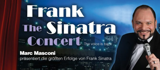 "23. Mai 2020 – ""The Frank Sinatra Concert"""